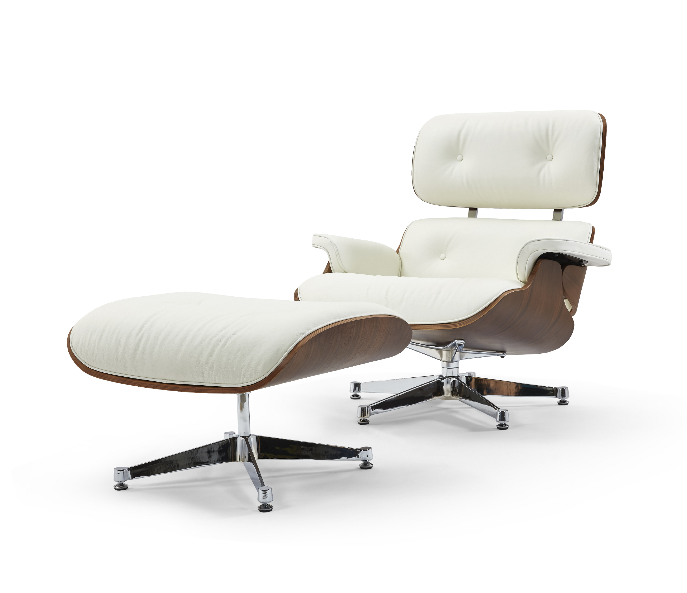 Florence Lounge Chair White PT-T066f wh